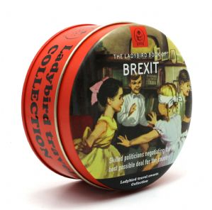 Simpkins Ladybird Book Travel Sweets Tin - Brexit